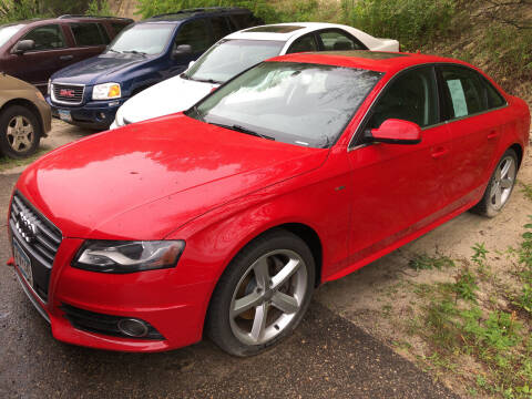 2012 Audi A4 for sale at Gilly's Auto Sales in Rochester MN