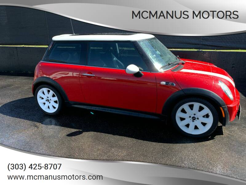 2004 MINI Cooper for sale at McManus Motors in Wheat Ridge CO