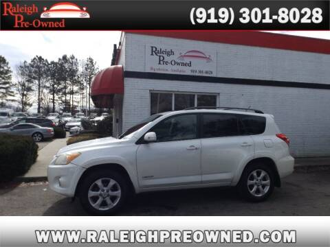 2009 Toyota RAV4 for sale at Raleigh Pre-Owned in Raleigh NC