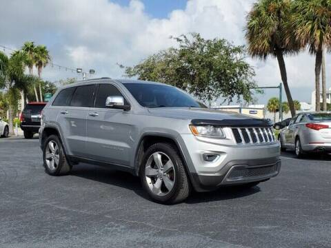 2014 Jeep Grand Cherokee for sale at Select Autos Inc in Fort Pierce FL