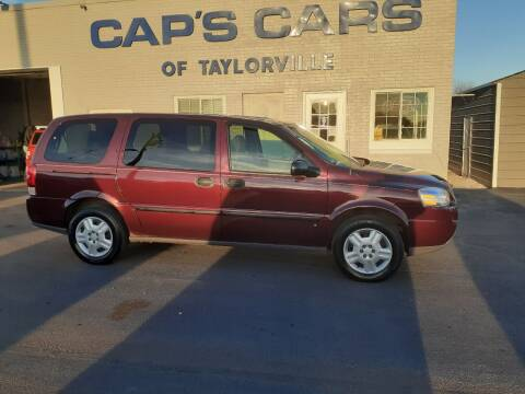 2006 Chevrolet Uplander for sale at Caps Cars Of Taylorville in Taylorville IL