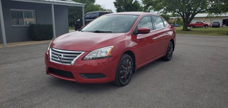 2014 Nissan Sentra for sale at Jacks Auto Sales in Mountain Home AR