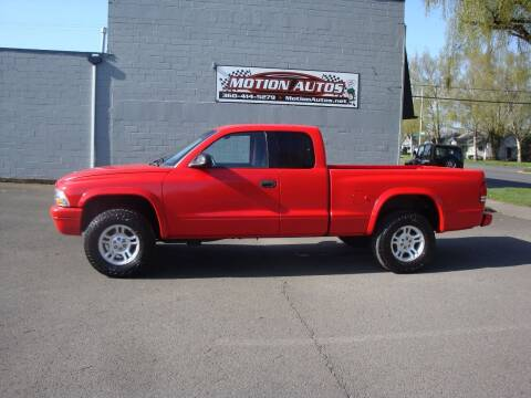 2001 Dodge Dakota for sale at Motion Autos in Longview WA