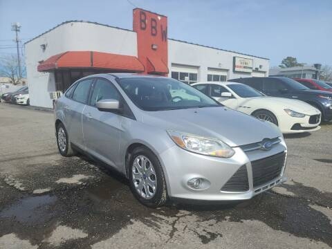 2012 Ford Focus for sale at Best Buy Wheels in Virginia Beach VA