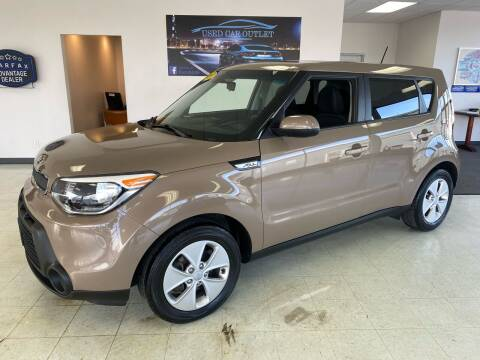 2015 Kia Soul for sale at Used Car Outlet in Bloomington IL