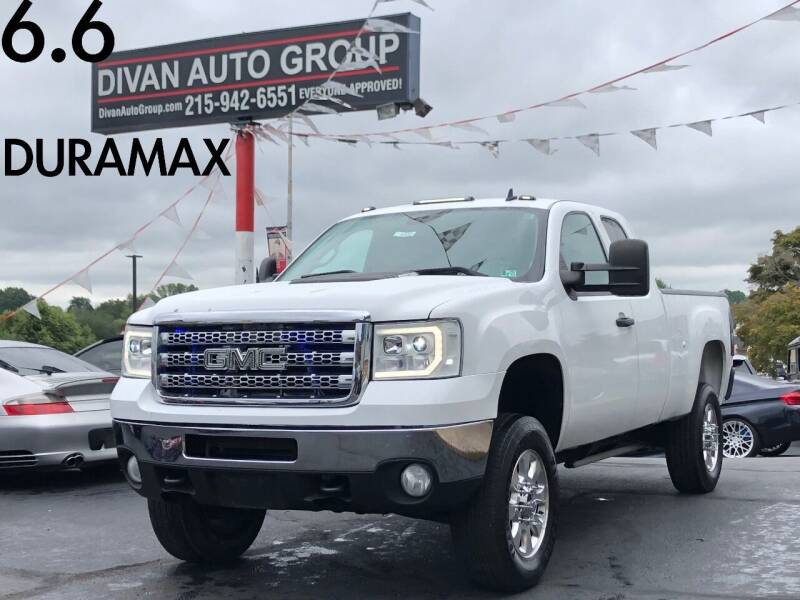 2013 GMC Sierra 2500HD for sale at Divan Auto Group in Feasterville Trevose PA
