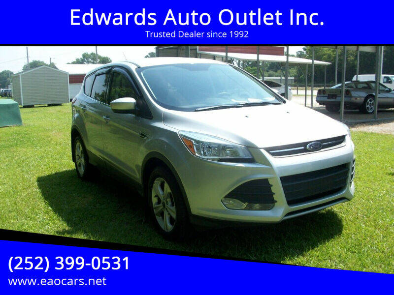 2014 Ford Escape for sale at Edwards Auto Outlet Inc. in Wilson NC