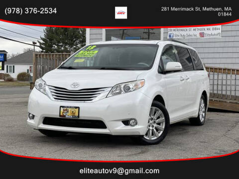 2013 Toyota Sienna for sale at ELITE AUTO SALES, INC in Methuen MA