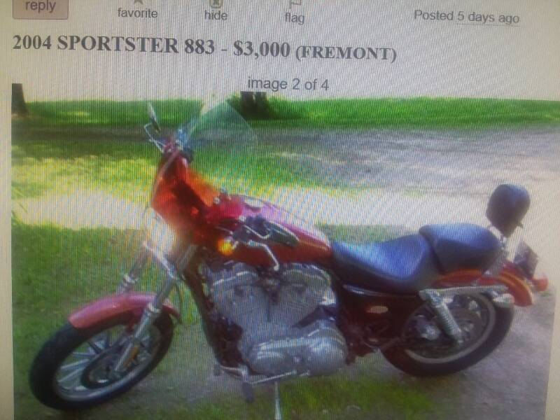 2004 Harley Davidson  Sportster 883 for sale at Dave's Auto Sales & Service in Weyauwega WI