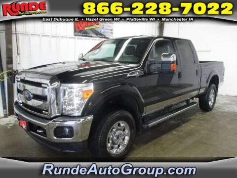 2016 Ford F-250 Super Duty for sale at Runde Chevrolet in East Dubuque IL