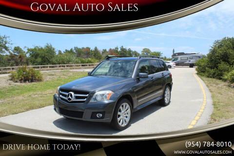 2010 Mercedes-Benz GLK for sale at Goval Auto Sales in Pompano Beach FL