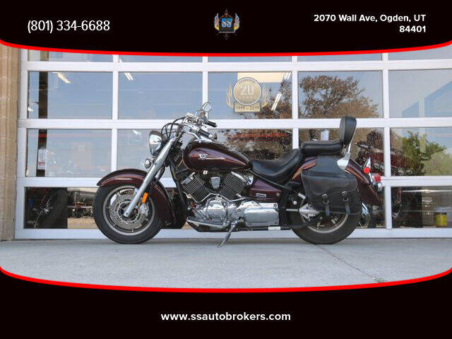 2006 Yamaha XVS11 V-Star 1100 Custom for sale at S S Auto Brokers in Ogden UT