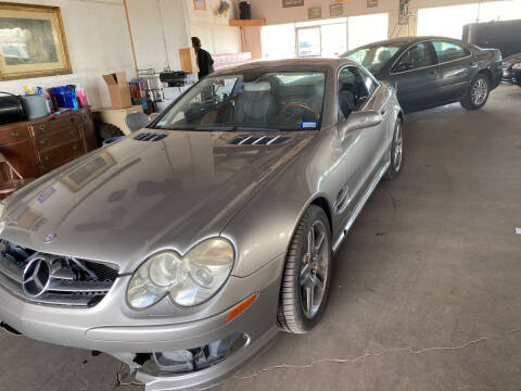 2006 Mercedes-Benz SL-Class for sale at PYRAMID MOTORS in Pueblo CO