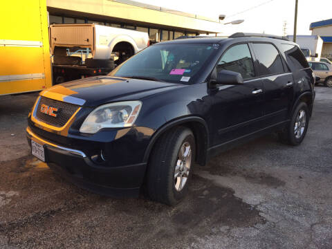 2011 GMC Acadia for sale at BSA Used Cars in Pasadena TX