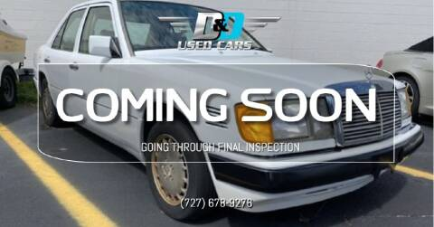 1990 Mercedes-Benz 300-Class for sale at D & D Used Cars in New Port Richey FL