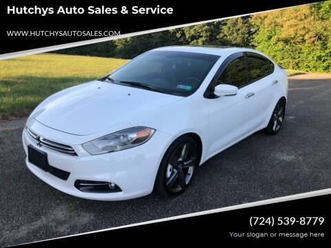 2013 Dodge Dart for sale at Hutchys Auto Sales & Service in Loyalhanna PA
