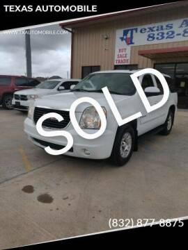 2007 GMC Yukon for sale at TEXAS AUTOMOBILE in Houston TX