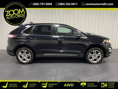 2016 Ford Edge for sale at ZoomAutoCredit.com in Elba NY
