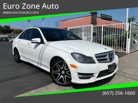 2013 Mercedes-Benz C-Class for sale at Euro Zone Auto in Stanton CA