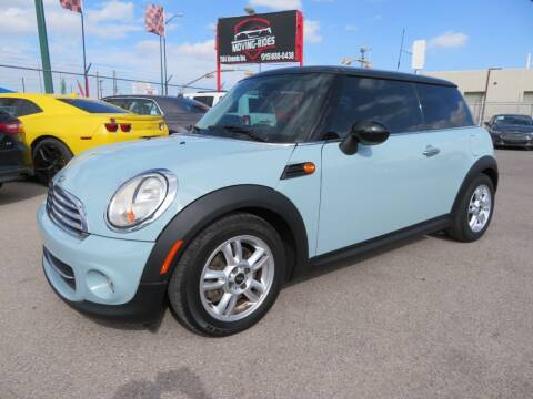 2013 MINI Hardtop for sale at Moving Rides in El Paso TX