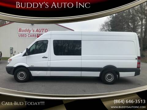 2013 Mercedes-Benz Sprinter Cargo for sale at Buddy's Auto Inc in Pendleton, SC