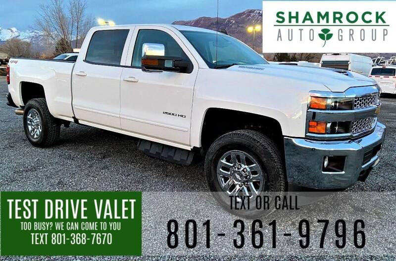 2019 Chevrolet Silverado 2500HD for sale at Shamrock Group LLC #1 in Pleasant Grove UT