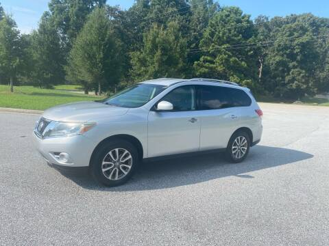 2013 Nissan Pathfinder for sale at GTO United Auto Sales LLC in Lawrenceville GA