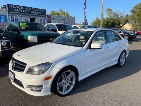2014 Mercedes-Benz C-Class for sale at Black Diamond Auto Sales Inc. in Rancho Cordova CA