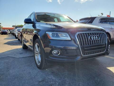 2015 Audi Q5 for sale at America Auto Wholesale Inc in Miami FL