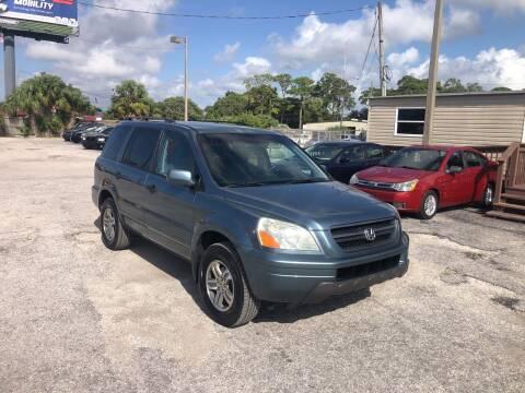 2005 Honda Pilot for sale at Friendly Finance Auto Sales in Port Richey FL