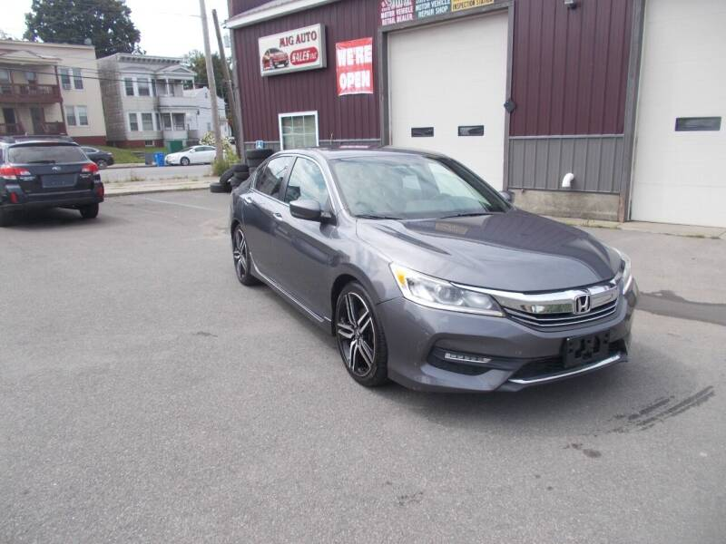 2016 Honda Accord for sale at Mig Auto Sales Inc in Albany NY