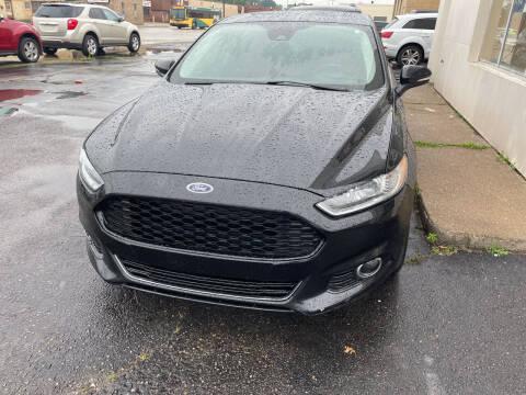 2014 Ford Fusion for sale at National Auto Sales Inc. - Hazel Park Lot in Hazel Park MI