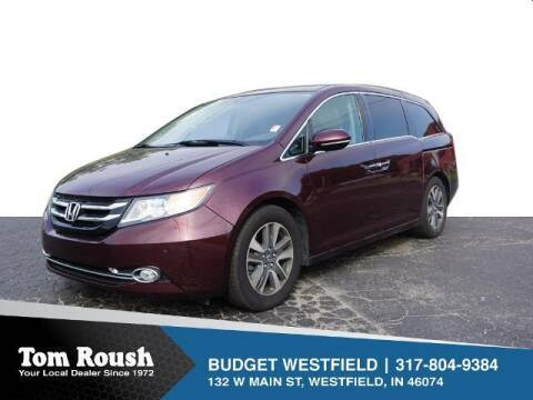 2014 Honda Odyssey for sale at Tom Roush Budget Westfield in Westfield IN