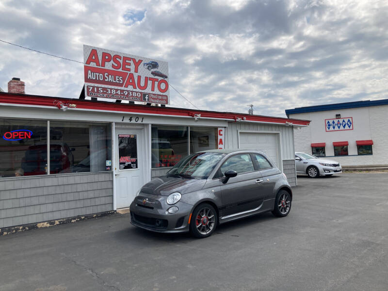 2013 FIAT 500c for sale at Apsey Auto 2 in Marshfield WI
