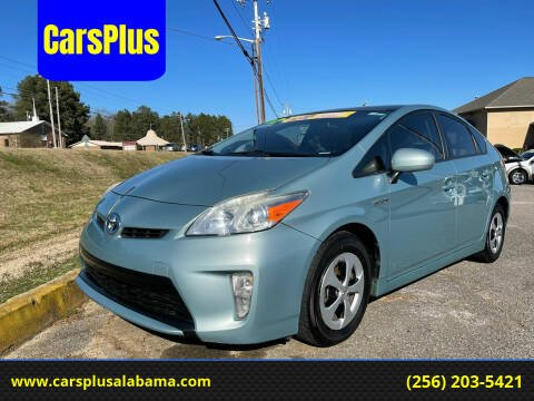 2012 Toyota Prius for sale at CarsPlus in Scottsboro AL