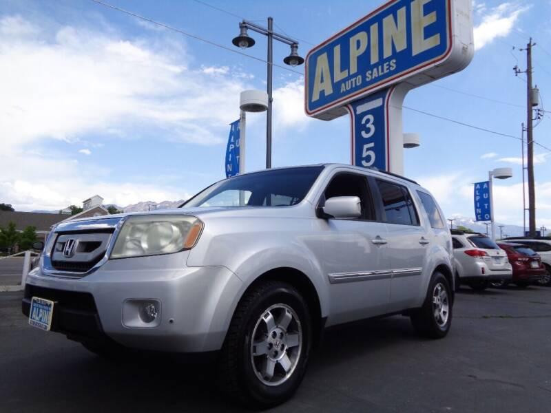 2009 Honda Pilot for sale at Alpine Auto Sales in Salt Lake City UT