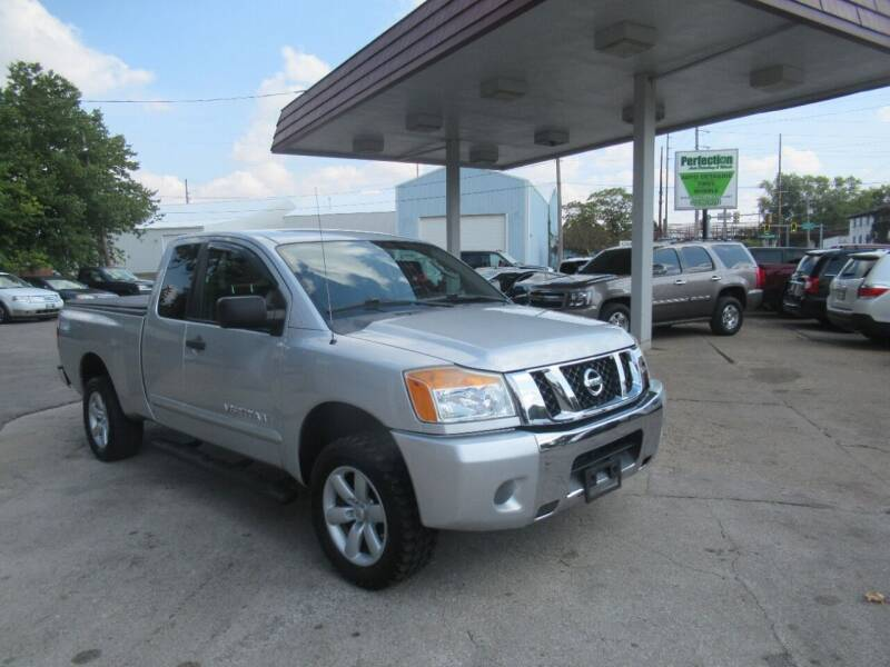 2011 Nissan Titan for sale at Perfection Auto Detailing & Wheels in Bloomington IL