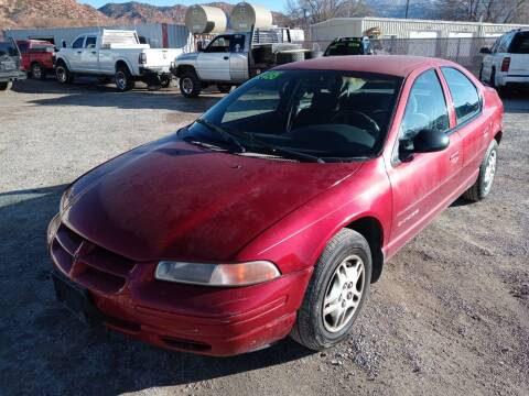 2000 Dodge Stratus for sale at Canyon View Auto Sales in Cedar City UT