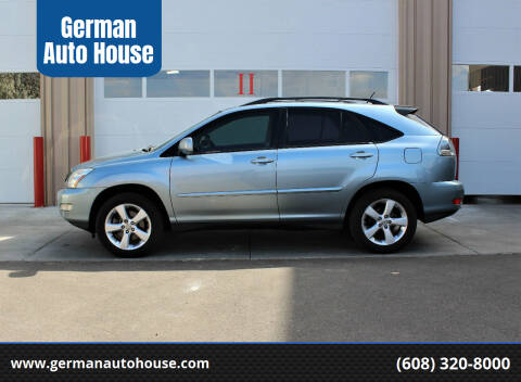 2007 Lexus RX 350 for sale at German Auto House in Fitchburg WI