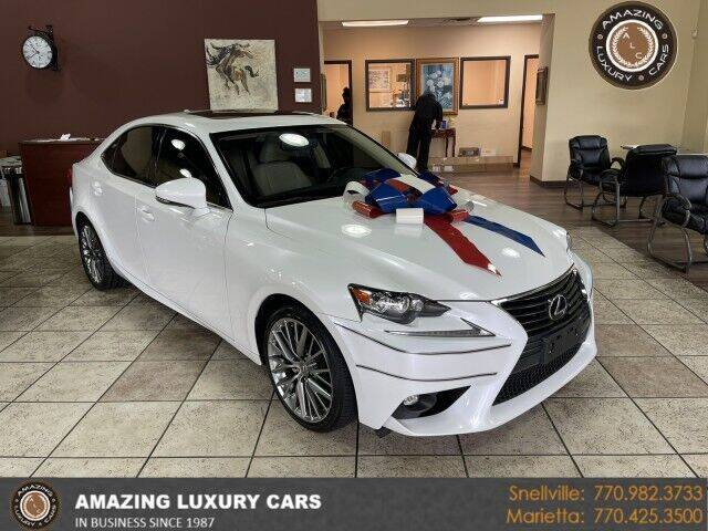 2015 Lexus IS 250 for sale at Amazing Luxury Cars in Snellville GA