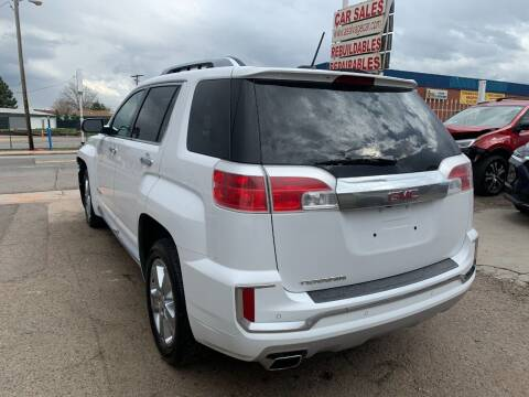 2017 GMC Terrain for sale at STS Automotive in Denver CO