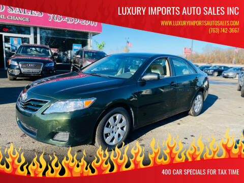 2010 Toyota Camry for sale at LUXURY IMPORTS AUTO SALES INC in North Branch MN