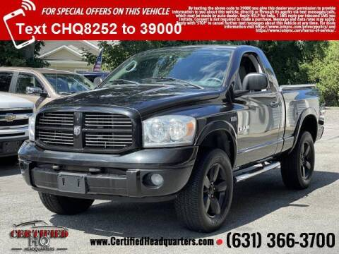 2008 Dodge Ram Pickup 1500 for sale at CERTIFIED HEADQUARTERS in Saint James NY