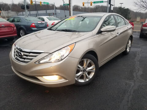2011 Hyundai Sonata for sale at Cedar Auto Group LLC in Akron OH