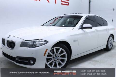 2015 BMW 5 Series for sale at Fishers Imports in Fishers IN