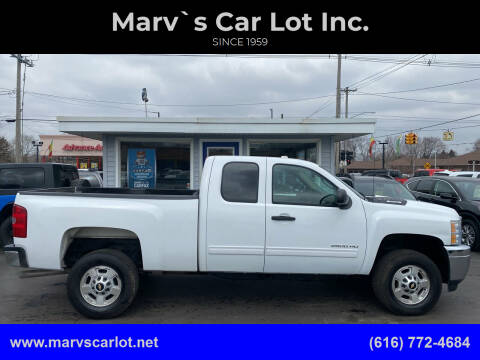 2011 Chevrolet Silverado 2500HD for sale at Marv`s Car Lot Inc. in Zeeland MI