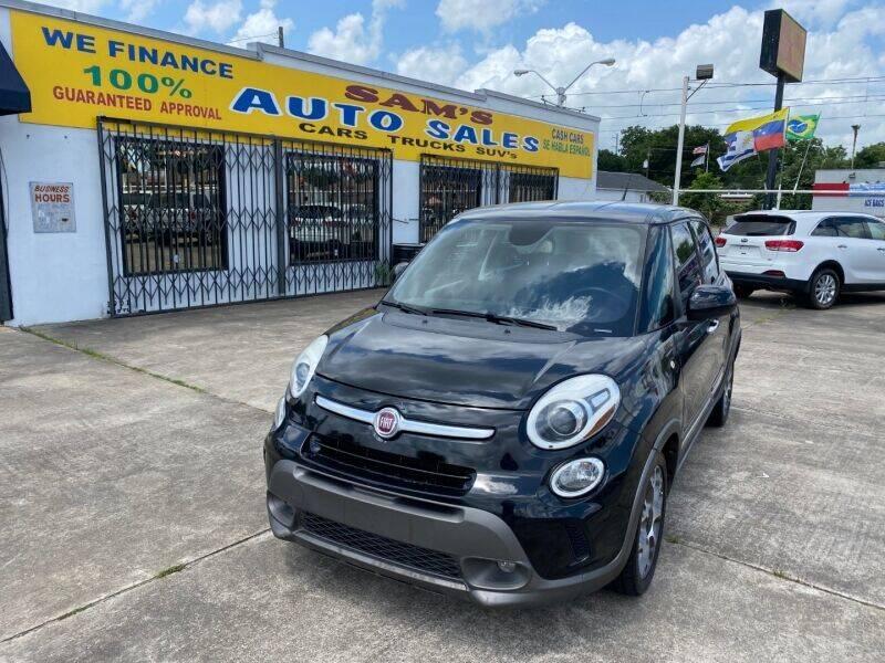 2014 FIAT 500L for sale at Sam's Auto Sales in Houston TX