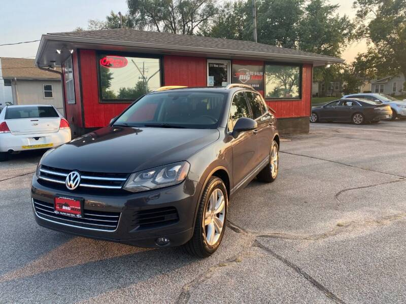 2013 Volkswagen Touareg for sale at Big Red Auto Sales in Papillion NE