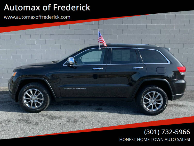 2015 Jeep Grand Cherokee for sale at Automax of Frederick in Frederick MD