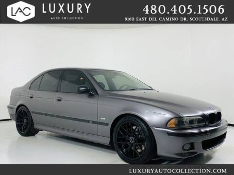 2001 BMW M5 for sale at Luxury Auto Collection in Scottsdale AZ